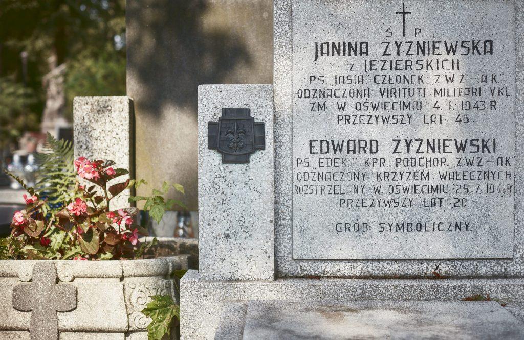 Pomnik nagrobny rodziny Żyźniewskich, fot.P. Augustyniak.