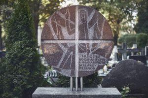 Pomnik nagrobny Gezy Rozmusa, fot.P. Augustyniak.