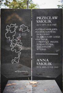 Pomnik nagrobny Przecława Smolika, fot.P. Augustyniak.