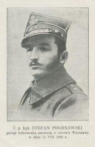 Stefan Pogonowski (1895-1920)