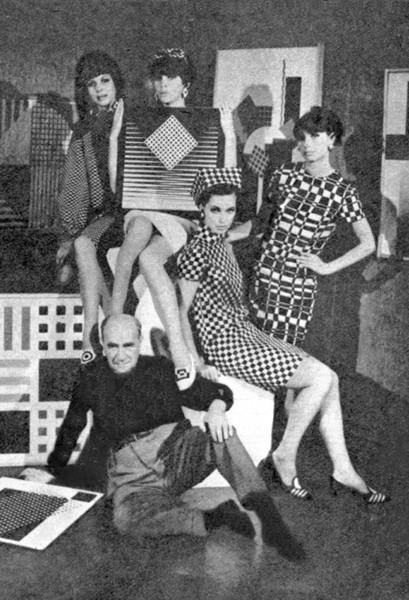 Henryk Berlewi, 1966 rok, fotografia prasowa