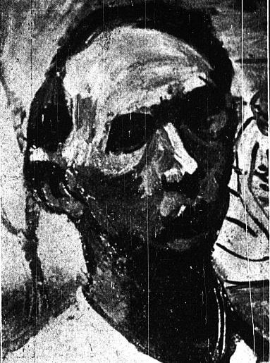 Henryk Barczyński. Autoportret. Nasz przegląd Ilustrowany dodatek R 12 nr5, 1934