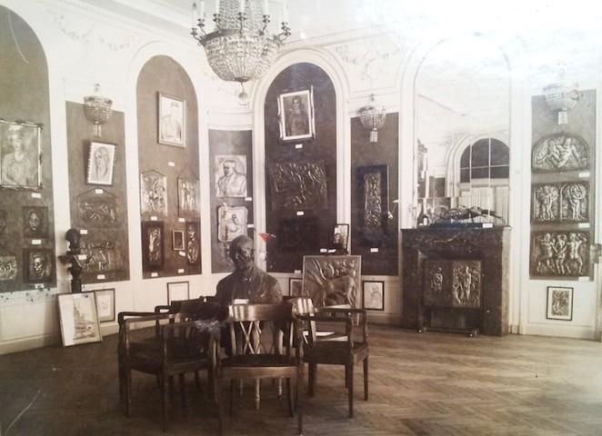 Wystawa Marka Szwarca włódzkim Grand Hotelu, fotograf nieznany