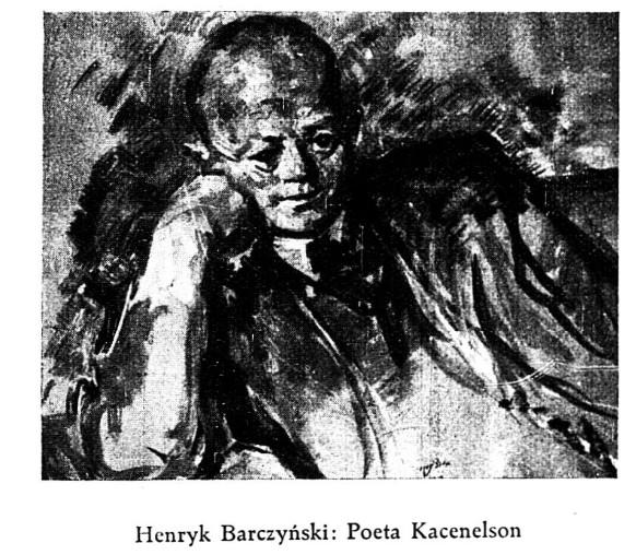 Reprodukcja obrazu Henryka Barczyńskiego. Nasz przegląd Ilustrowany dodatek R 16 nr5, 1938
